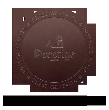 Logo do historia firmy prestige