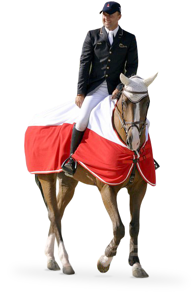 Jeździec Marek Lewicki