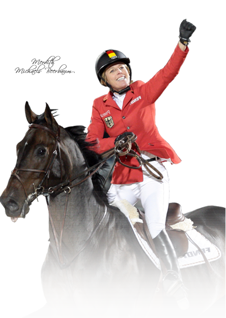Jeździec Meredith Michaels-Beerbaum